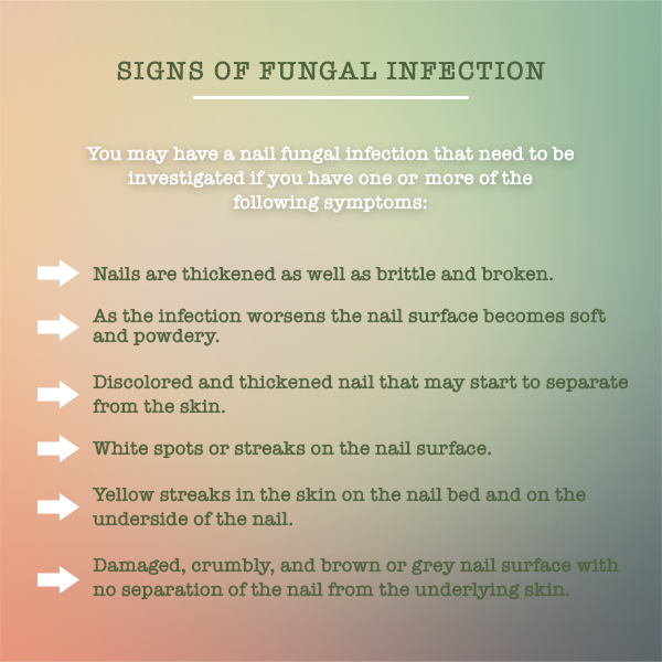 Nail Fungus Infection Symptoms